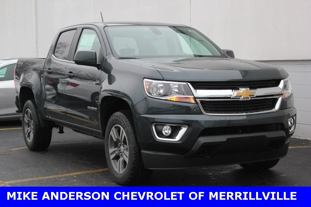 new 2017 chevrolet colorado lt 4d crew cab in merrillville 00001949 mike anderson chevy. Black Bedroom Furniture Sets. Home Design Ideas