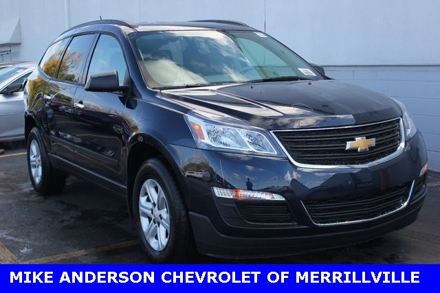 new 2017 chevrolet traverse ls 4d sport utility in merrillville 00001619 mike anderson chevy. Black Bedroom Furniture Sets. Home Design Ideas
