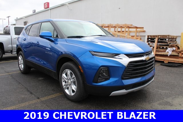 New 2019 Chevrolet Blazer Base 4d Sport Utility In Merrillville